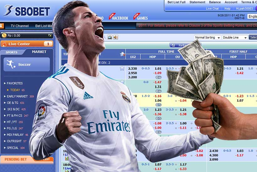 Ronaldo Happy Play Sbobet Monney