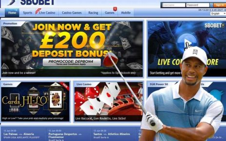 Tiger woods sbobet golf sports